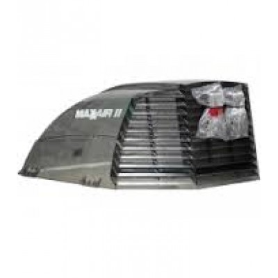 MAXXAIR II VENT COVER,SMOKE