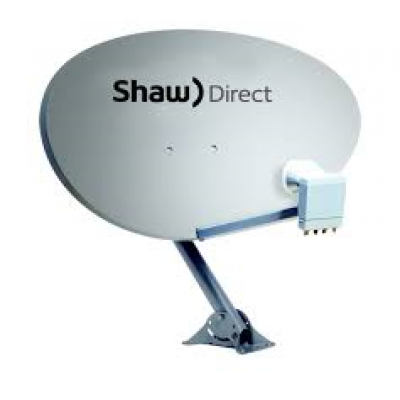 ANTENNE SATELLITE SHAW DIRECT 60 CM / 24 POUCES  XKU